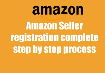 how to seller registration on amazon India